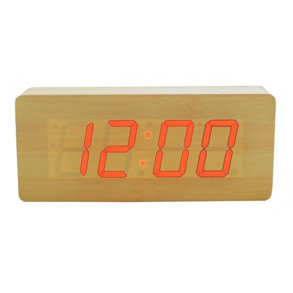 Часы VST865-1 КРАСНЫЕ (СВЕТЛО- КРОИЧНЕВЫЙ)