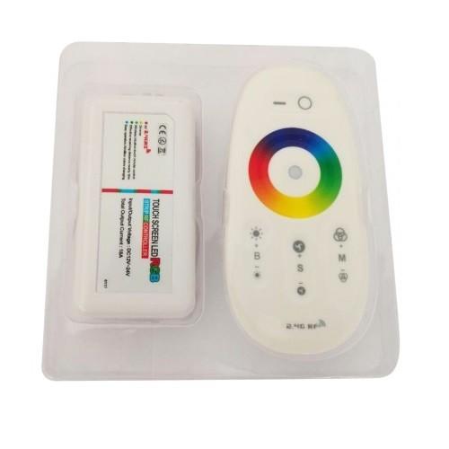 LED Контроллер 12/24В RGBW (288w) сенсорный ПДУ