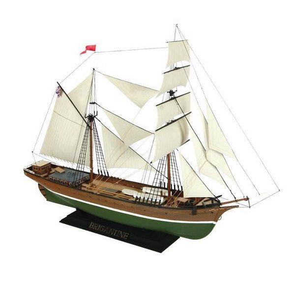 """Сборная модель """"Бригантина"""", подарочный набор, 1:100 ZV-9011П"""