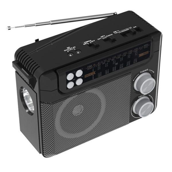 Радиоприемник RITMIX RPR-200 FM/MP3/SD/USB ЧЕРНЫЙ