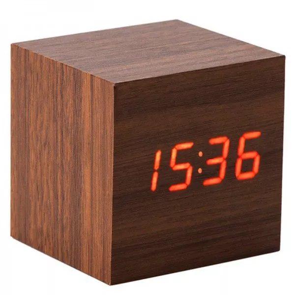 Часы VST869-1 КРАСНЫЕ (ТЕМНО- КРОИЧНЕВЫЙ)