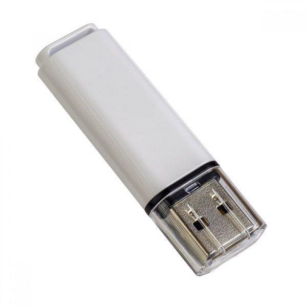 ФЛЭШ-КАРТА PERFEO 16GB C13 БЕЛАЯ С ПРОЗР.КОЛПАЧКОМ USB 2.0