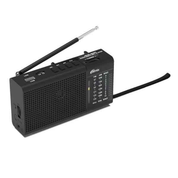 Радиоприемник RITMIX RPR-155 FM/AM/SW/mSD/SD/USB/3.5Jack
