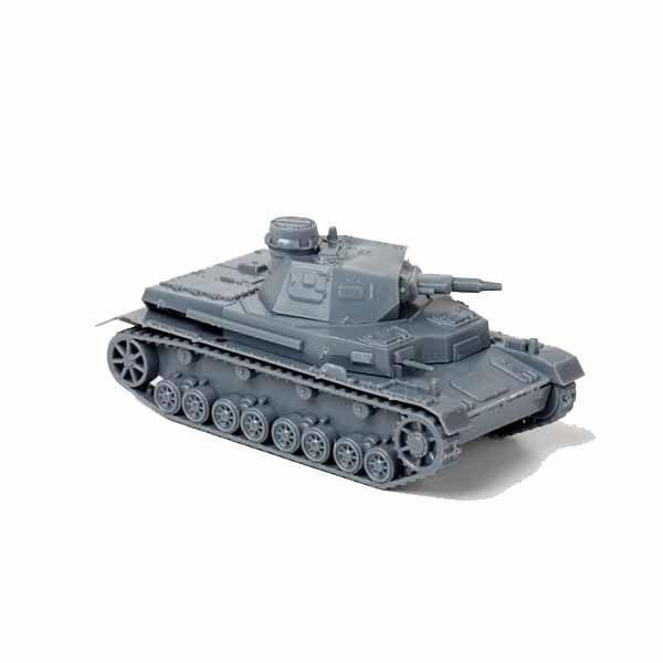Сборная модель ZVEZDA Немецкий танк Pz-IV, 1/100 ZV-6151