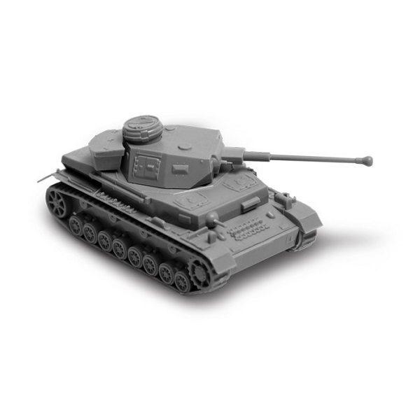 Сборная модель ZVEZDA Немецкий танк Pz-IV F2, 1/100 ZV-6251