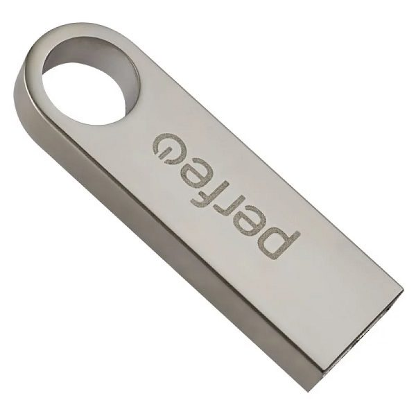 ФЛЭШ-КАРТА PERFEO 32GB M07 МЕТАЛЛИЧЕСКИЙ БРЕЛОК USB 2.0